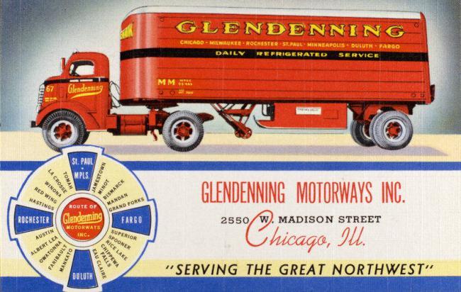 Glendenning Motorways Inc.- 2550 West Madison Street,- Chicago, IL - cataloged 1941